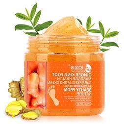 Foot Exfoliating Scrub Gel With Avocado Essence, Foot Whiten