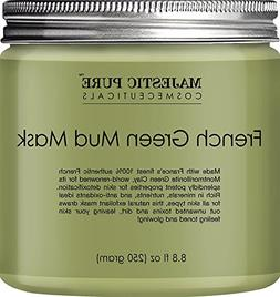 Majestic Pure French Green Mud Mask with Authentic Montmoril