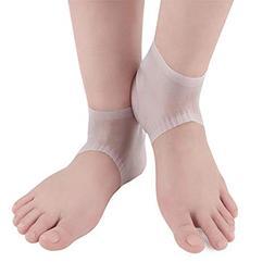 SaveStore Gel Heel Socks Silicone Socks Moisturizing Anti-Sl