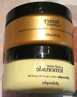 Philosophy Glazed Body Souffle Honey & Cream or Iced Mint Le