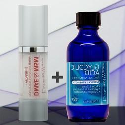Glycolic Acid 35% Plus DMAE MSM Serum Cream Anti Aging Acne