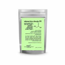 Glycolic Acid Powder 1 Oz, 2 Oz, 4 Oz, 8 Oz DIY Chemical Pee
