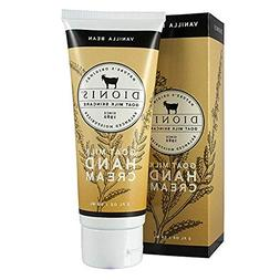 Dionis Original Goat Milk Skincare, Vanilla Bean Hand Cream,