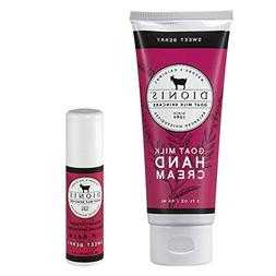 Dionis Goat Milk Skincare 2 Piece Set - Hand Cream and Lip B