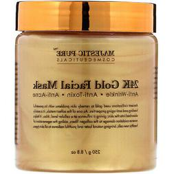 Majestic Pure Gold Facial Mask, Help Reduces the Appearances