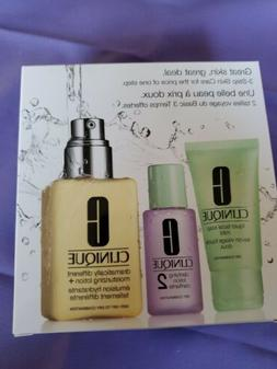 Clinique Great Skin Starts Here 3 Step Skincare Intro Kit dr