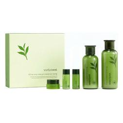 Innisfree Green Tea Balancing Skin care set  Freebie