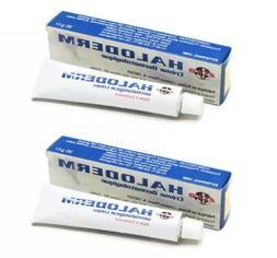 halo derm skin problems cream 2 tubes