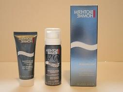 BIOTHERM HOMME AQUAPOWER CLEANSING SHAVING SKIN CARE SET NEW
