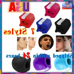 HOT Jawline Exerciser Top Jaw line Exercise Fitness Ball Nec