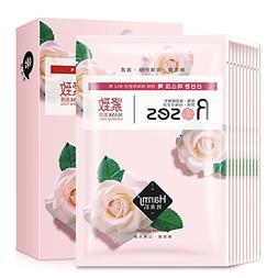 Hyaluronic Acid Firming Mask Rose Oil-free Moisturising Skin
