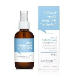 Hyaluronic Acid Serum for Skin 4 Fl. Oz Hydrating Facial Moi