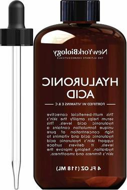 New York Biology Hyaluronic Acid Serum w/ Vitamins A & C Ant
