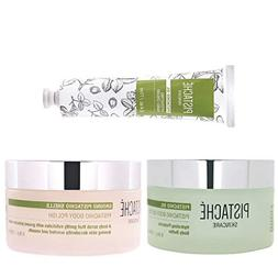 Pistaché Skincare - 3-Piece Hydrating Body Butter, Hand Cre
