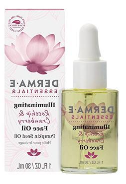 Derma E Illuminating Rosehip & Cranberry Face Oil, 1 Fluid O