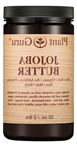 Jojoba Body Butter 32 oz. 100% Pure Raw Fresh Natural Cold P