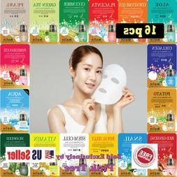 Korean 16 pcs Ultra Hydrating Essence Mask, Korean Skincare