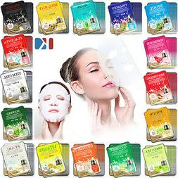 42 PCS Korean Essence Facial Mask Sheet, Moisture Face Mask