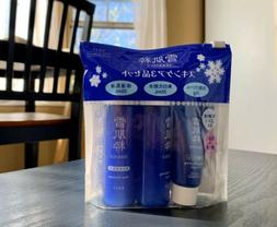 KOSE SEKKISUI Skin Care Travel Set  / Face wash / Lotion / E