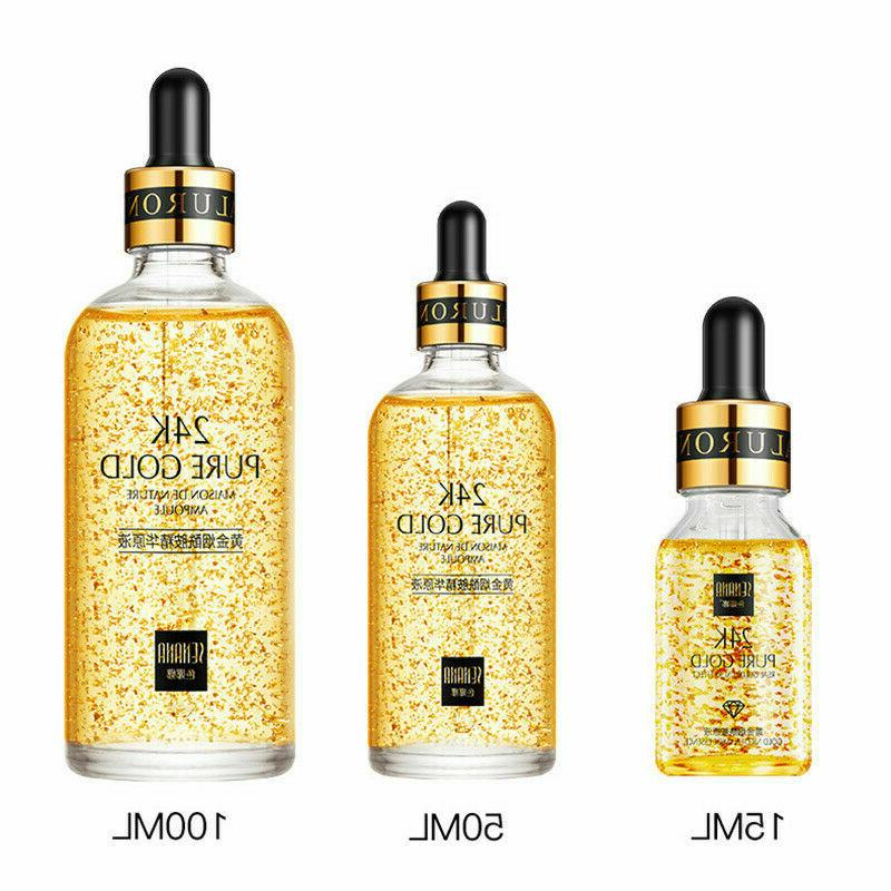 100ml 24k gold facial skin care anti