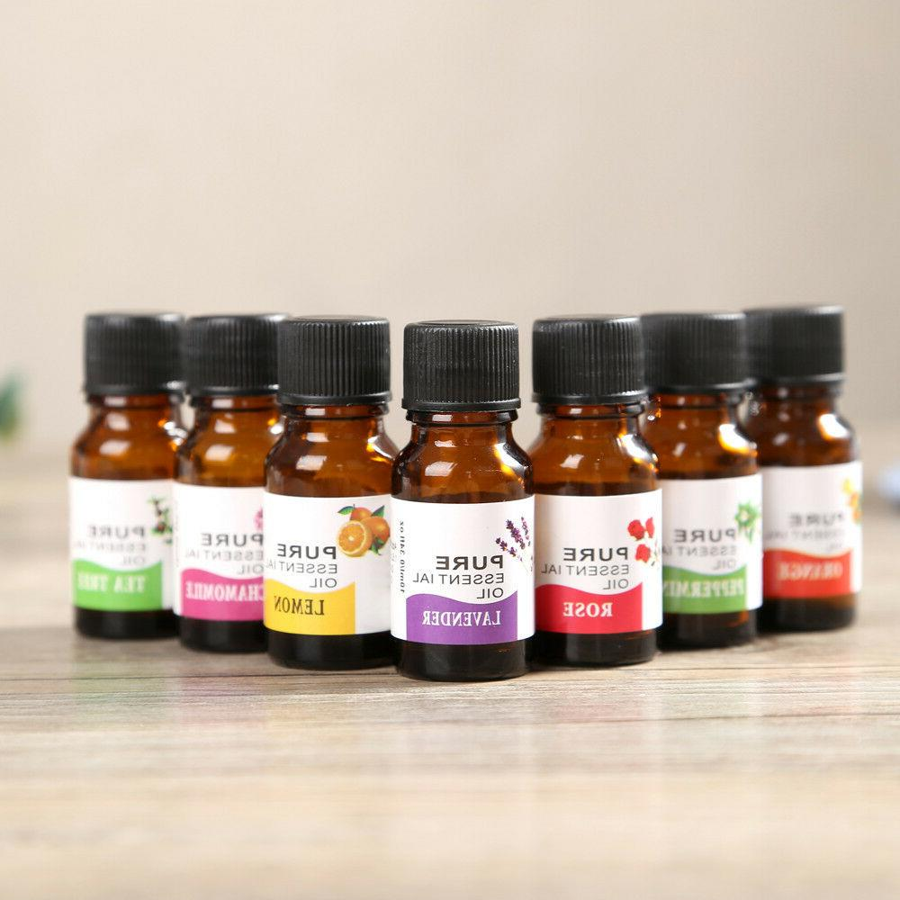 10ml 100% Pure & Natural Essential Oils Aromatherapy Scent S