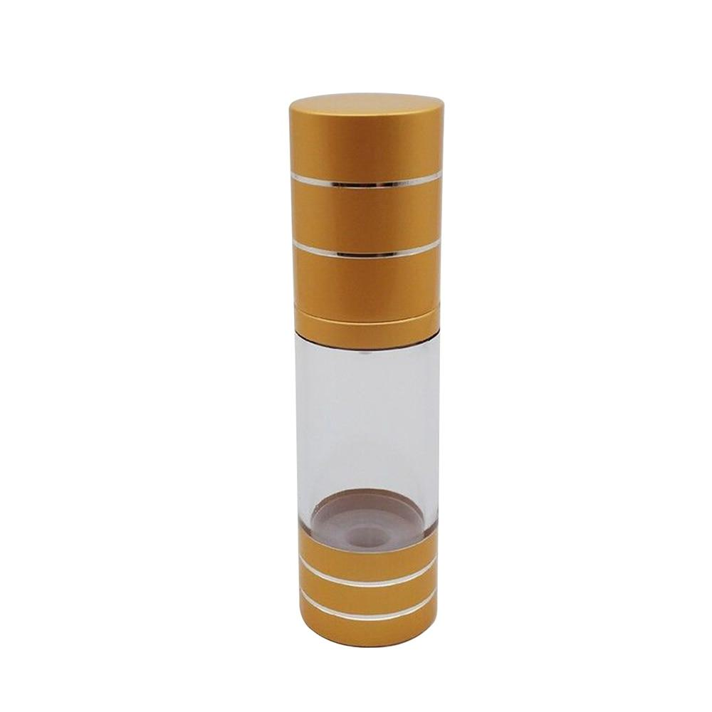 15ml Portable Airless Bottle Cosmetic Treatment Pump <font><