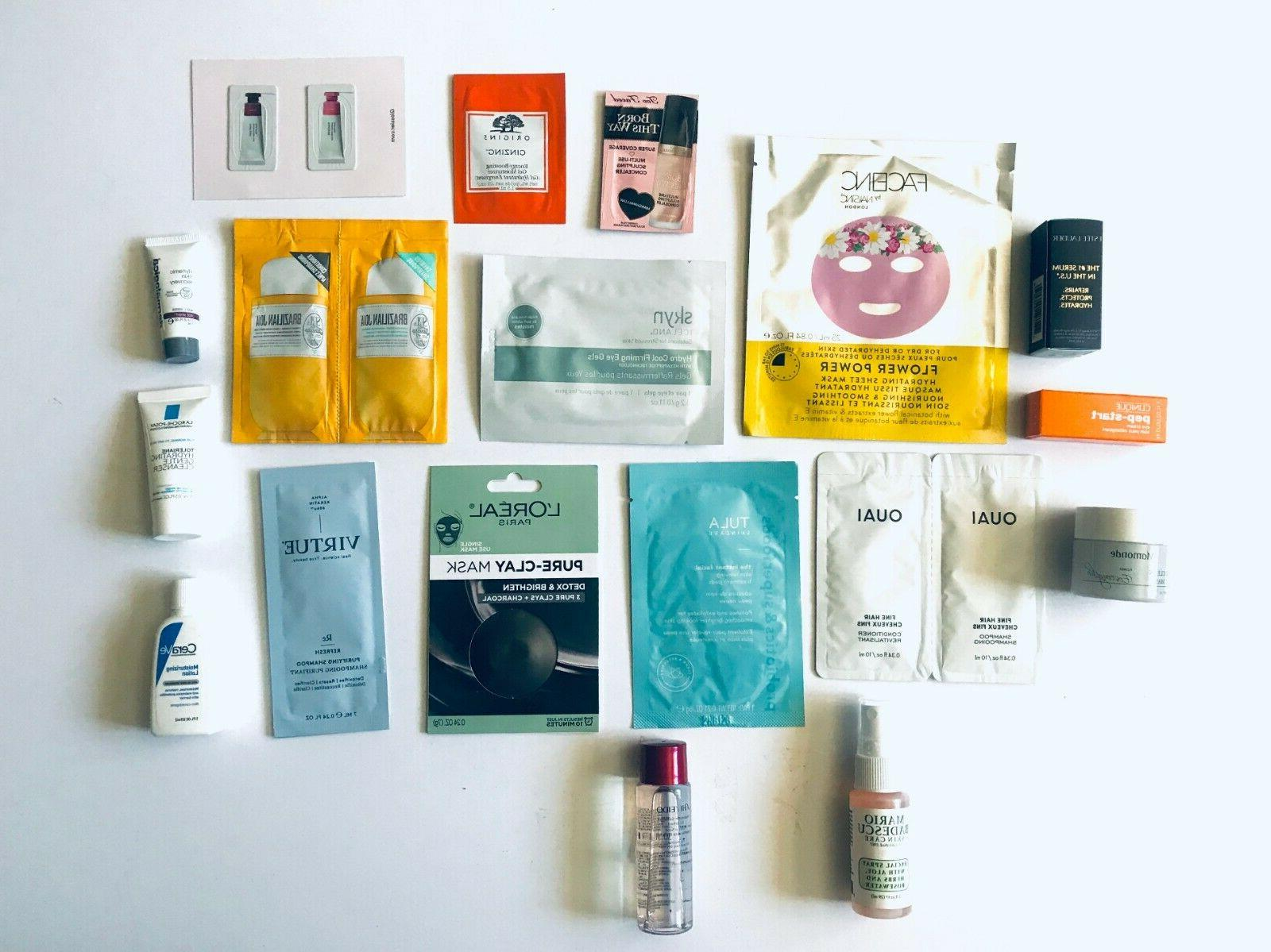 18 piece skincare and hair self care