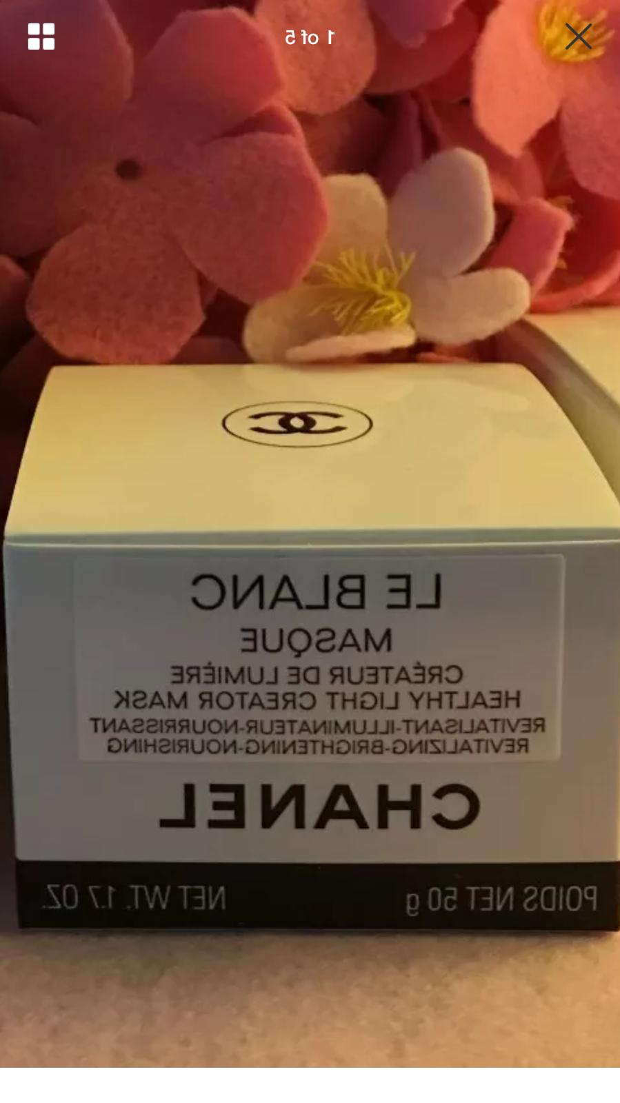 CHANEL 2018 NEW LE BLANC MASK 50ml x2  AND  GIFT SET SALE