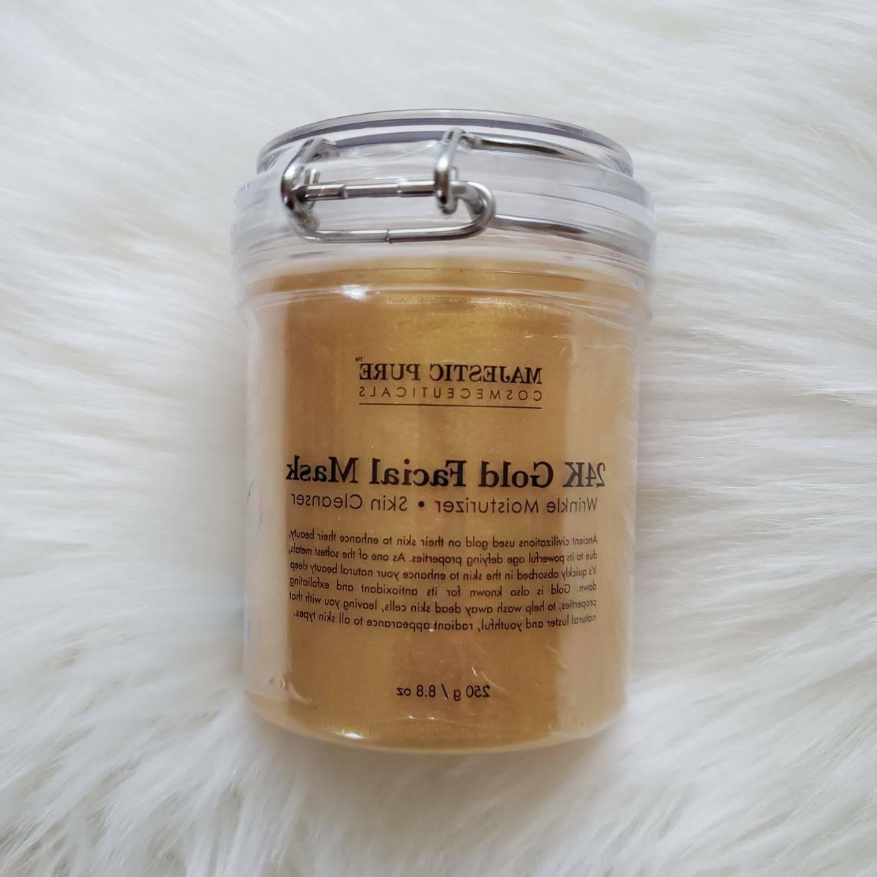 Majestic Face Mask Reduces Lines Moisturize Clear Skin SEALED