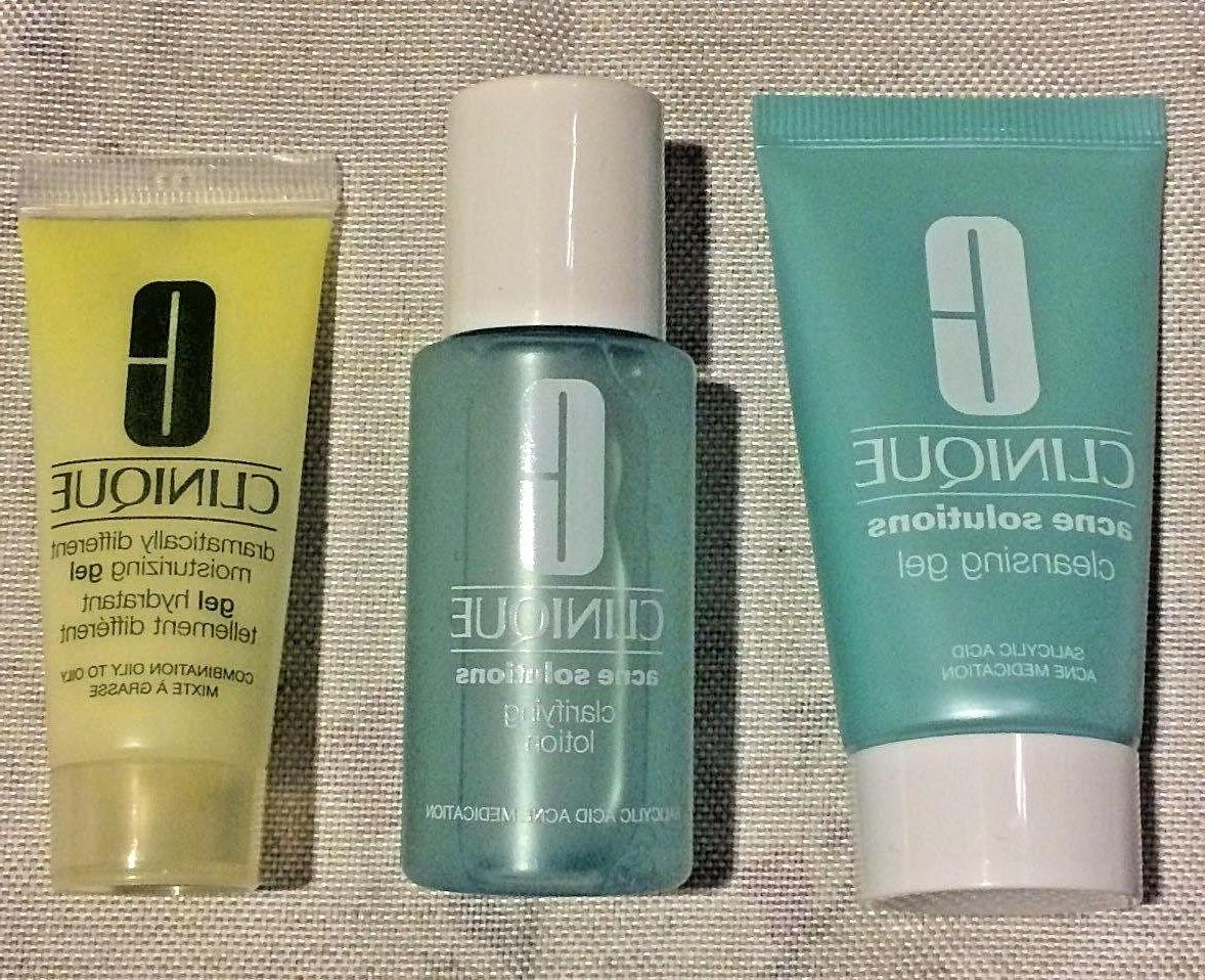 CLINIQUE 3 Skincare Gift Sets-YOU CHOOSE! Step, Men's-FAST FREE SHIP!