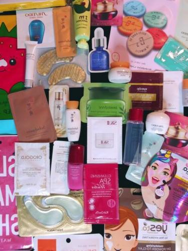 30 Nice K-Beauty Samples And
