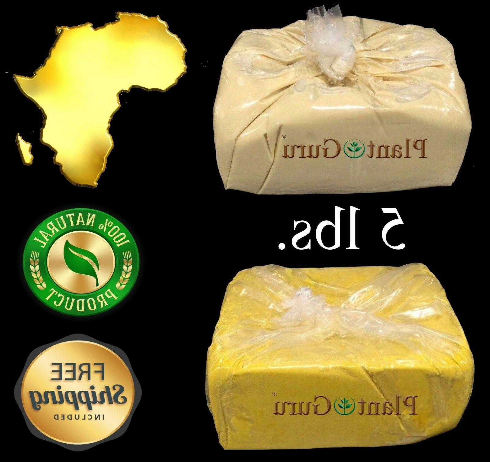 5 lbs african shea butter 100 percent