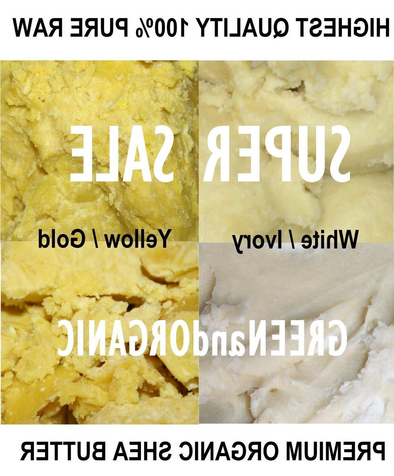 5 Lbs African Shea Butter 100% Pure Raw Organic Unrefined  B
