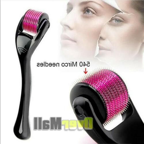 540 Microneedle Micro Derma Dermaroller Wrinkles Stretch