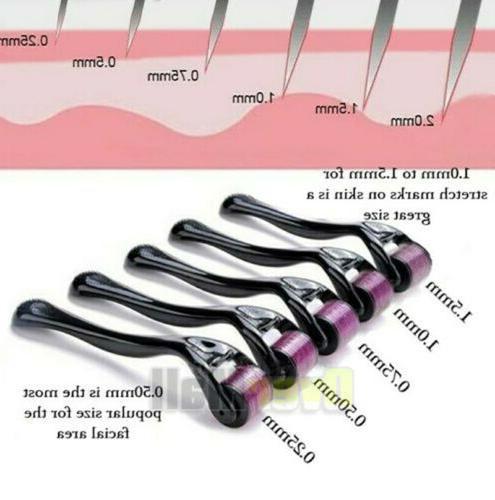 540 Microneedle Micro Needle Derma Dermaroller Scar Wrinkles Stretch