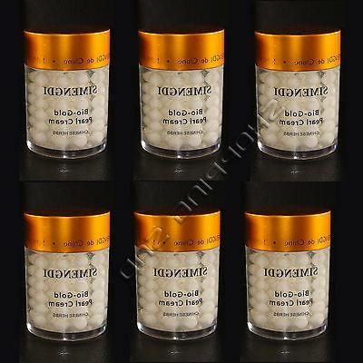6  X Boxes Simengdi Bio-Gold Pearl Cream Anti-Aging Herbs Wr