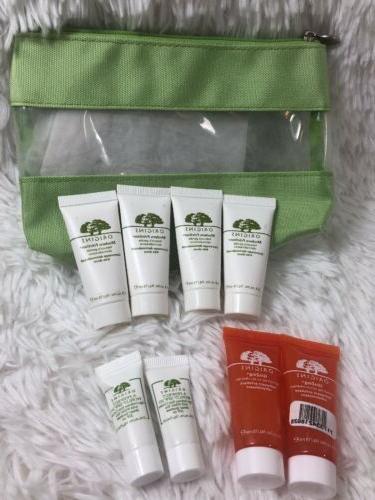 8 pcs skincare cleanser eye cream