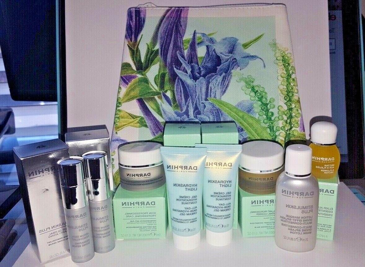 9 peice skincare travel set oil hydraskin