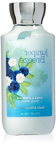 Bath & Body Works Shea & Vitamin E Lotion Juniper Breeze, 8o