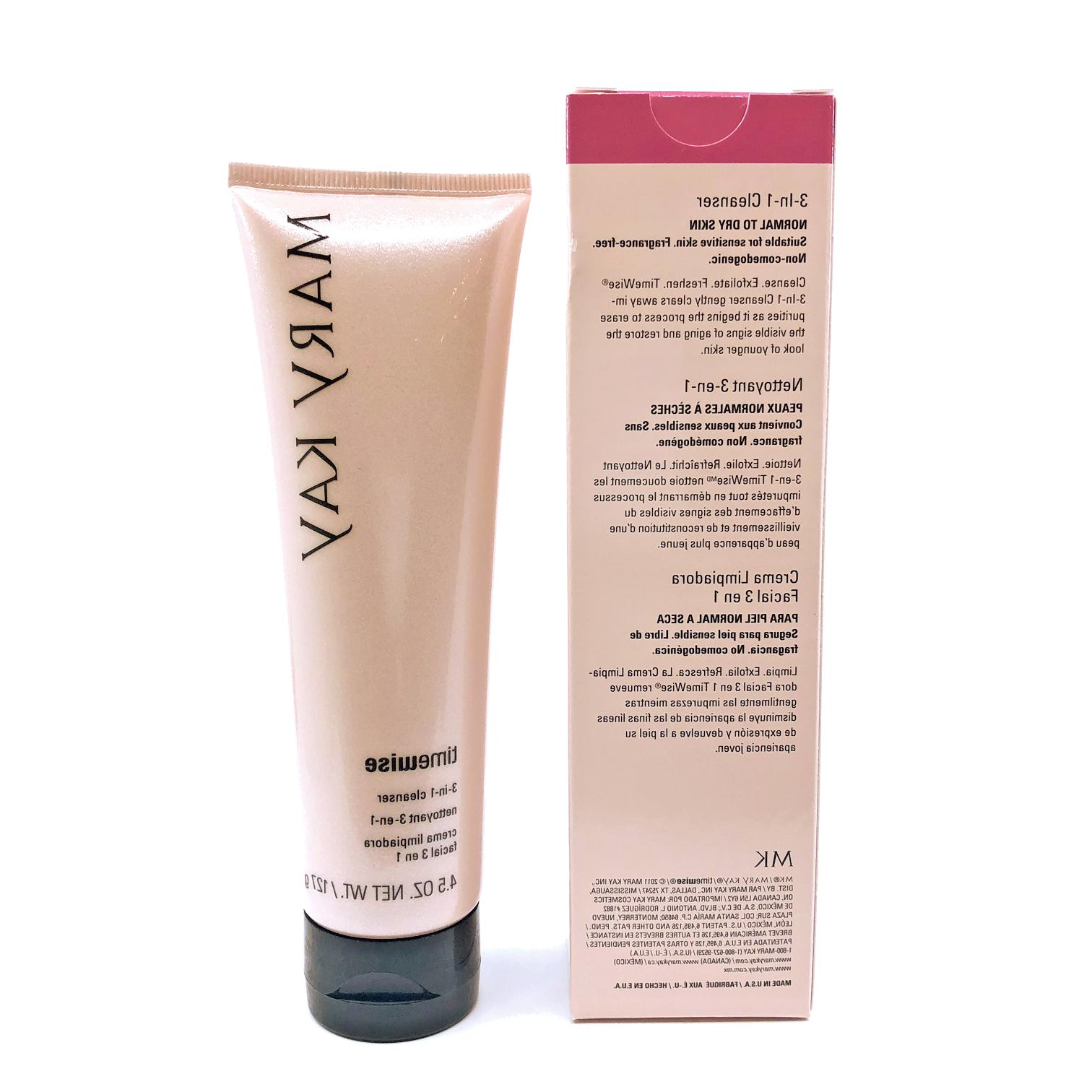 Mary Kay TimeWise 3-In-1 Cleanser Normal to Dry, FREE SHIPPI