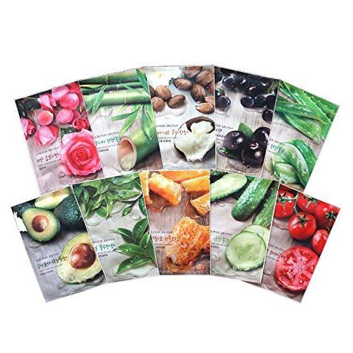 Nature Republic Real Nature Mask Sheet 30pcs Lot Facial Skin