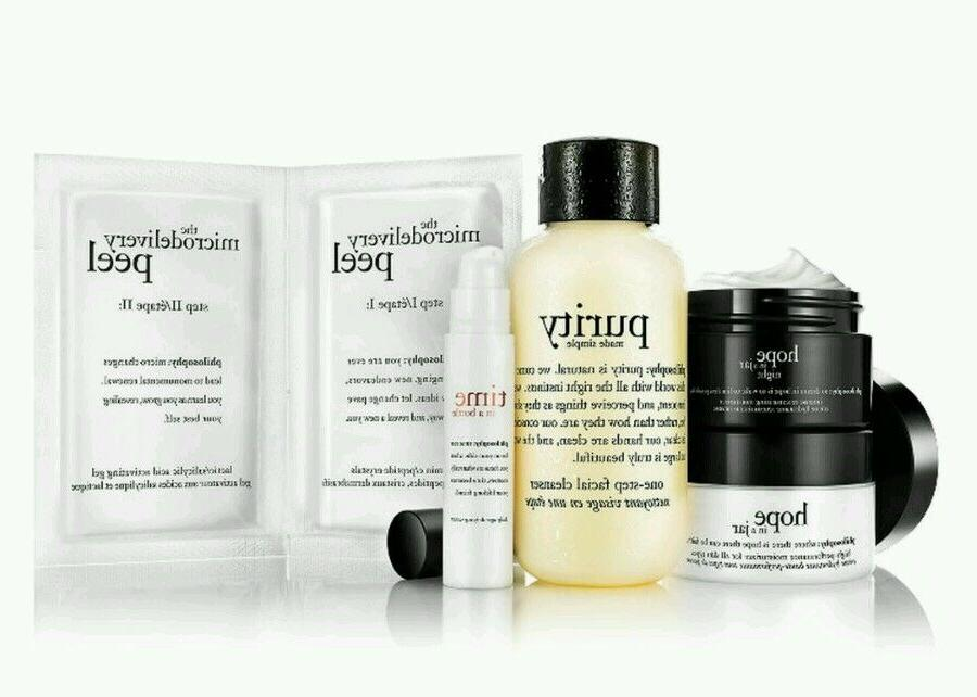 PHILOSOPHY CLEANSE PEEL TREAT YOUR WAY TO RADIANT SKIN TRIAL