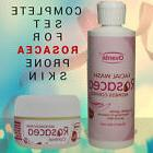 Rosacea Treatment Skin Care Products: Cream Wash for Itching