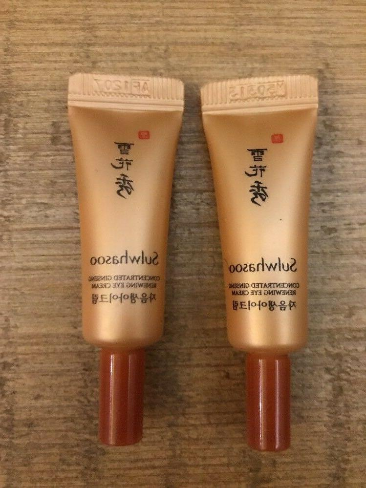 Sulwhasoo Concentrated Ginseng Renewing Eye Cream Tube Type