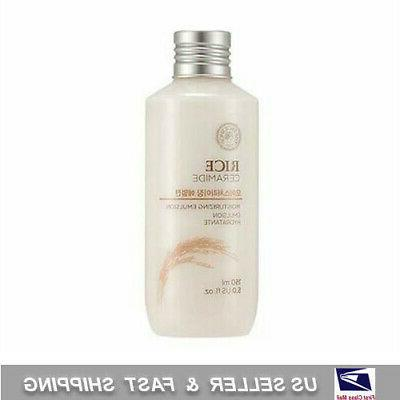 The Face Shop Rice Ceramide Moisturizing Emulsion 150ml + Fr