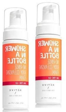 Bath and Body Works Active Skincare 2 Pack Shower in a Bottl