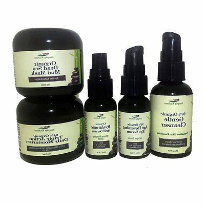 Age Reversing Organic Skin Care Kit