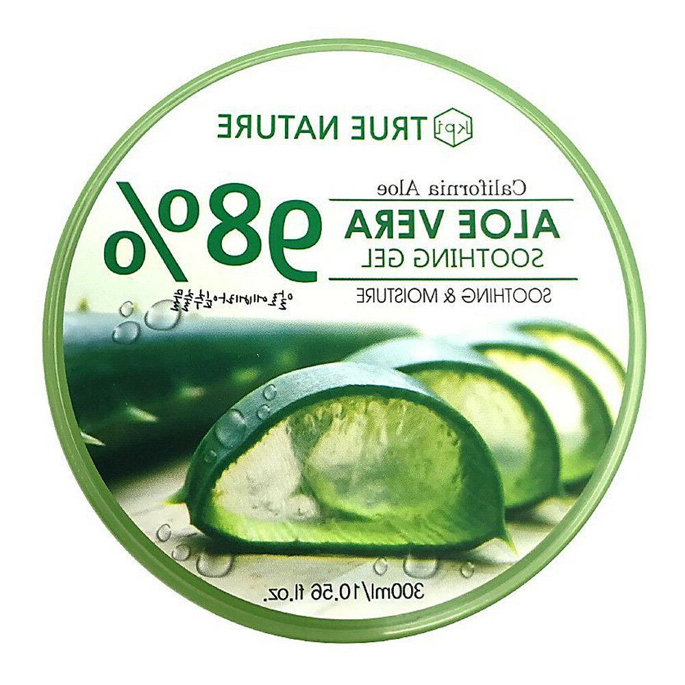 98% Aloe Vera Gel Soothing & Moisture - Moisturizer for Faci