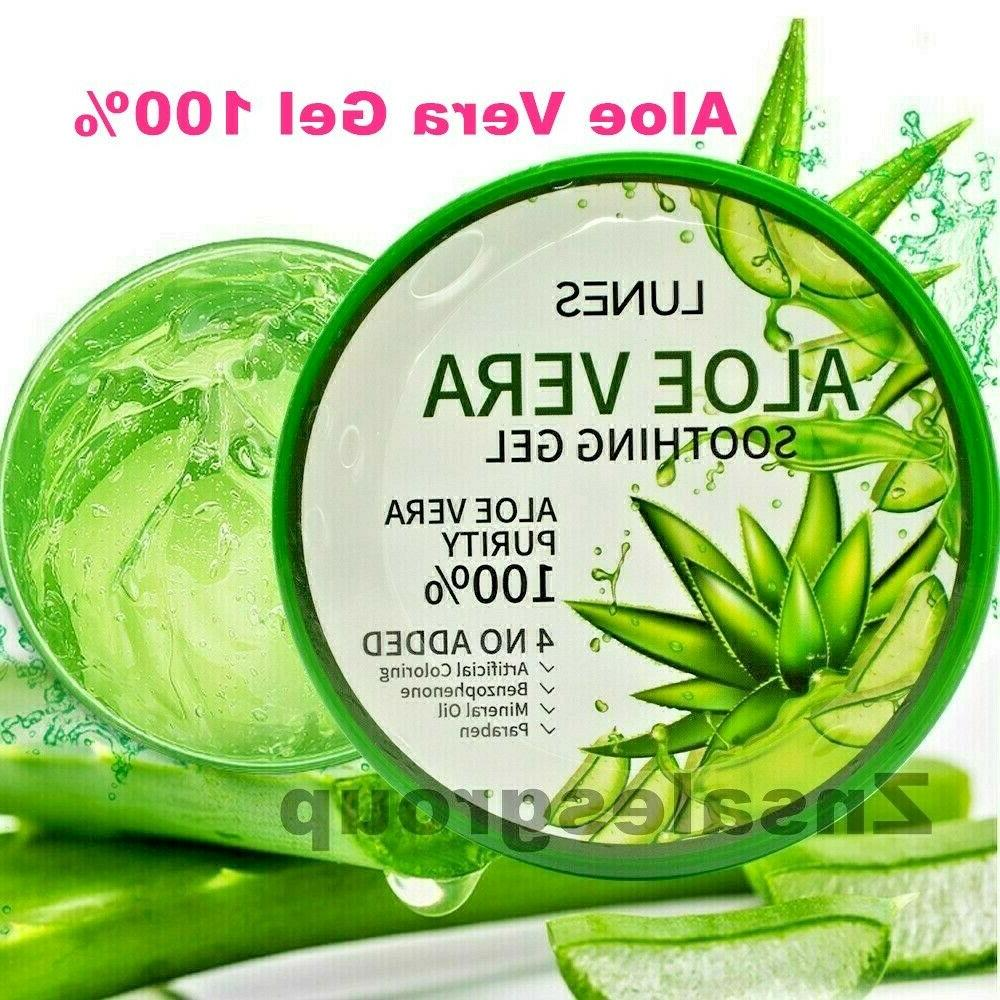 Aloe Vera Gel 100% Moisturizer 300 ml /10.58 oz