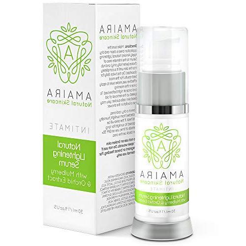 amaira intimate lightening serum bleaching cream skin
